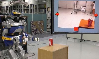 کنترل روبات