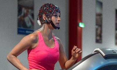 ثبت EEG در حین ورزش