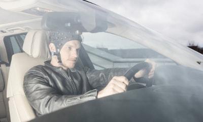 ثبت EEGدر حین رانندگی