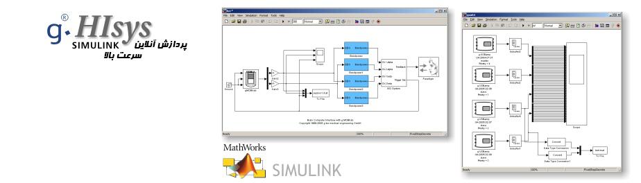 نرمافزار g.HIsys SIMULINK