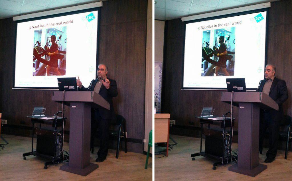 معرفی تجهیزات gtec در پنجمین کنگره علوم اعصاب