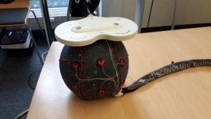 بررسی تاثیر TMS روی سیستم ثبت EEG روی مدل هندوانه