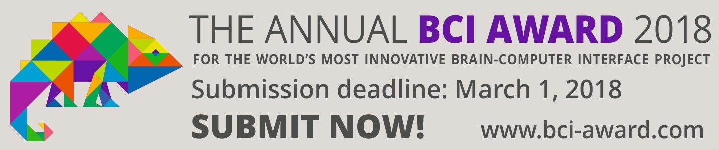 BCI Award 2018 banner